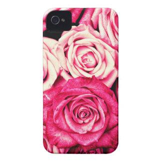 Romantic Pink Roses Case-Mate iPhone 4 Case