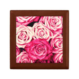 Romantic Pink Roses Gift Box