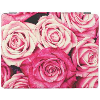 Romantic Pink Roses iPad Cover