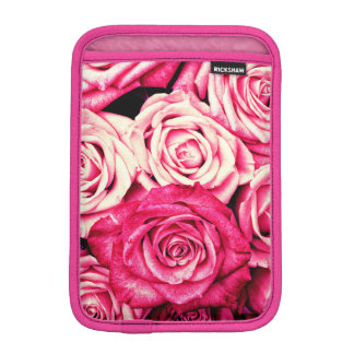 Romantic Pink Roses iPad Mini Sleeve