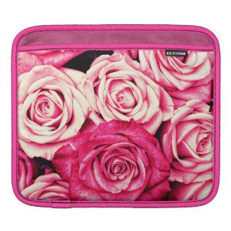 Romantic Pink Roses iPad Sleeve