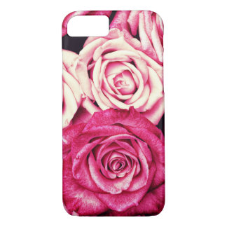 Romantic Pink Roses iPhone 8/7 Case