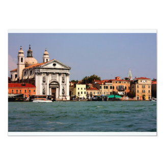 Romantic places in Venice Card