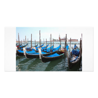 Romantic places in Venice Photo Greeting Card