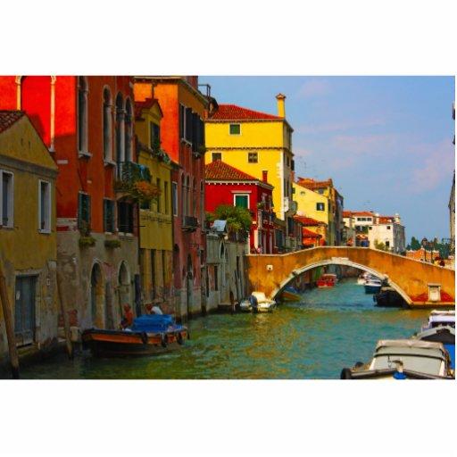 Romantic places in Venice Cut Out