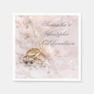 Romantic pretty chic elegant disposable napkin