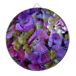 Romantic Purple Hydrangeas Dart Board