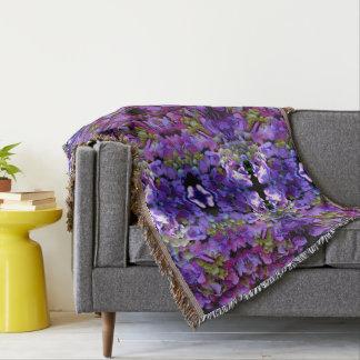 Romantic purple  Hydrangeas mandala