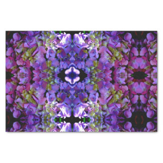 Romantic purple Hydrangeas Tissue Paper