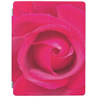 Romantic Red Pink Rose iPad Cover