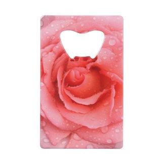 Romantic Red Pink Rose Water Drops
