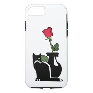 Romantic Rose Kitty iPhone 7 Case