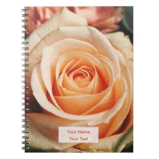 Romantic Rose Pink Rose Notebook