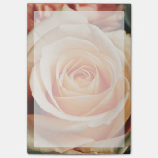 Romantic Rose Pink Rose Post-it Notes