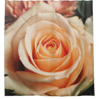 Romantic Rose Pink Rose Shower Curtain