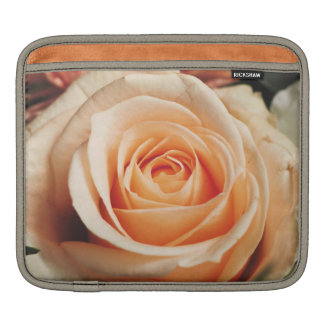 Romantic Rose Pink Roses Floral Flower iPad Sleeve