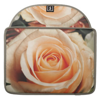 Romantic Rose Pink Roses Floral Flower Sleeve For MacBooks