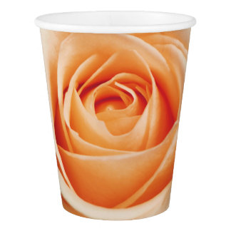 Romantic Rose Pink Roses Spring Flower Floral Paper Cup
