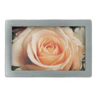 Romantic Rose Pink Roses Spring Flower Floral Rectangular Belt Buckles