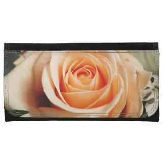 Romantic Rose Pink Roses Spring Flower Floral Wallet