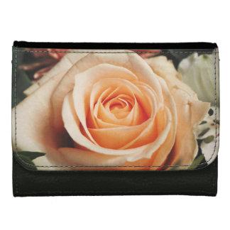 Romantic Rose Pink Roses Spring Flower Floral Wallets