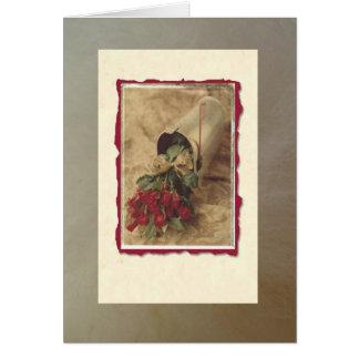 Romantic Roses Note Card