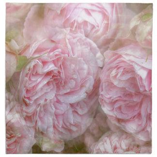 Romantic roses - novel TIC Roses Napkin