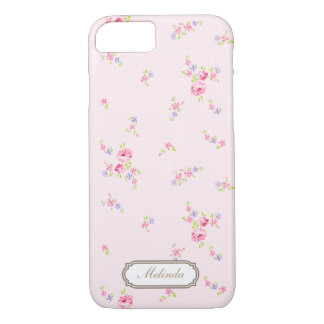 Romantic Roses- pale pink iPhone 7 case