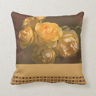 Romantic Roses Pillow by bubbleblue Cushions