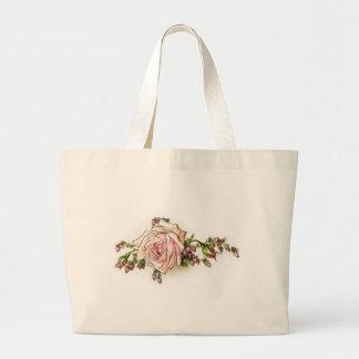 Romantic Roses Rosebuds Elegant Vintage Victorian Bags