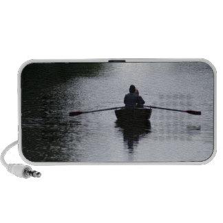Romantic Rowboat Notebook Speaker