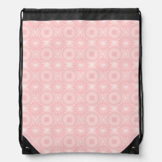 Romantic Spring Hearts Drawstring Bag