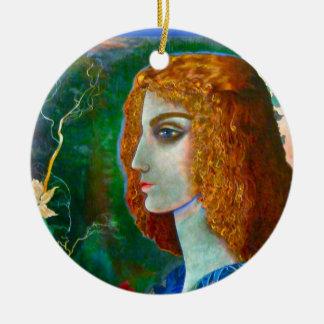 Romantic Spring Pendant Ceramic Ornament