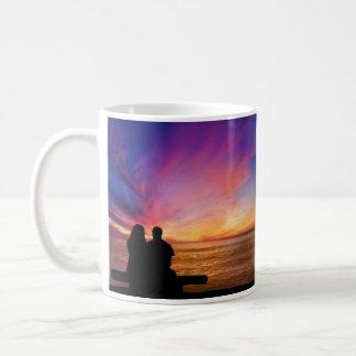 Romantic Sunset Basic White Mug