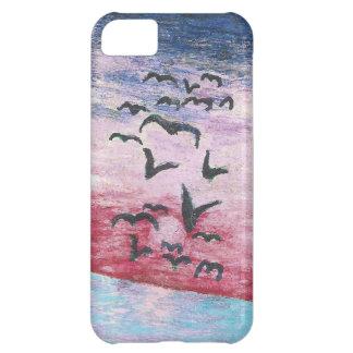 romantic sunset iPhone 5C case