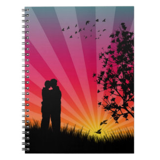 Romantic Sunset Notebook
