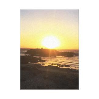 Romantic Sunset || Pescadero, CA || Canvas Print