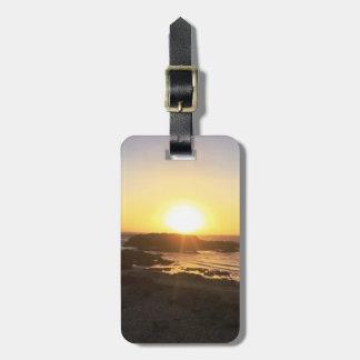 Romantic Sunset || Pescadero, CA || Luggage Tag