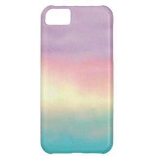 Romantic Sunset Watercolor iPhone iPhone 5C Case