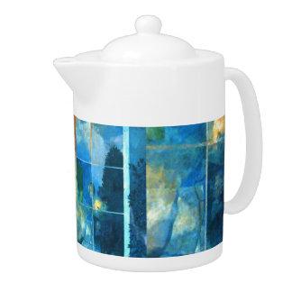 romantic tea pot