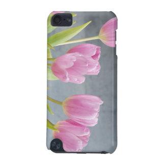 Romantic tulips bouquet ipod case
