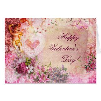 Romantic Valentine's Greeting Card