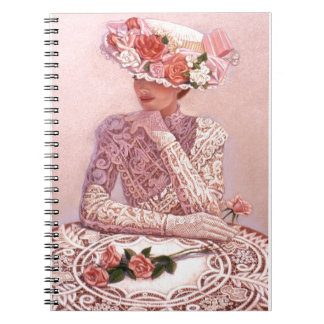 Romantic Victorian Lady Journal