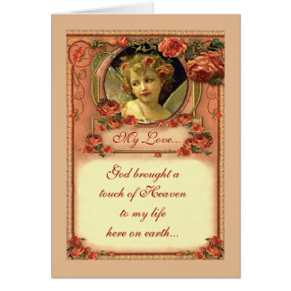 ROMANTIC VICTORIAN ROSES by SHARON SHARPE Card