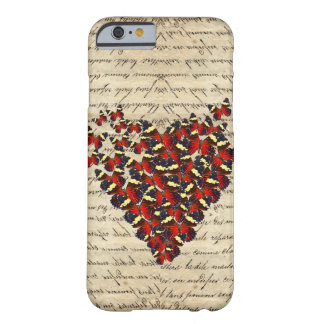 Romantic Vintage butterfies iPhone 6 Case