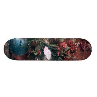Romantic Vintage Flower Arrangement 20 Cm Skateboard Deck