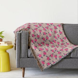 Romantic Vintage Inspired Pink Floral Pattern