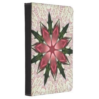 Romantic Vintage Lace Pink Rose Kindle Touch Case