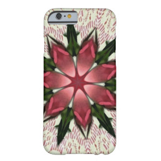 Romantic Vintage Lace Pink Rose Barely There iPhone 6 Case