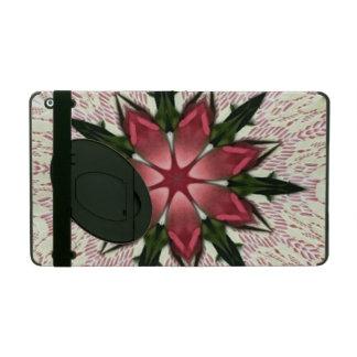 Romantic Vintage Lace Pink Rose Kaleidoscope iPad Cases